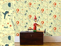Small Picture Contemporary Interior Wallpaper Design for Kids Room by Loboloup