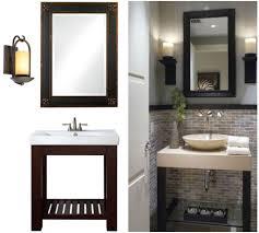 Bathroom Amazing Side Mirror Wall Sconces Bathroom And Lighted - Bathroom mirror design ideas