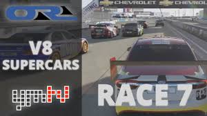 forza 6 pro racing v8 supercars round 7 tx3 extend their le lead