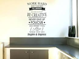 inspirational wall decals for office inspirational wall art for office work hard inspirational wall art e