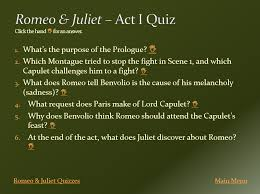 Romeo and Juliet act IV study guide