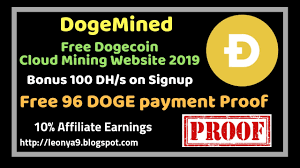 Join free dogecoin auto mining now! Bitcoin Usd Rate History Dogemined Best Dogecoin Cloud Mining Website 2019 Bonus 100 Dh S On Signup Live Payment Proof