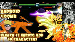 Bleach VS Naruto 3.3 Modded 50 Characters ANDROID {400MB DOWNLOAD}   Anime  fighting games, Naruto games, Naruto