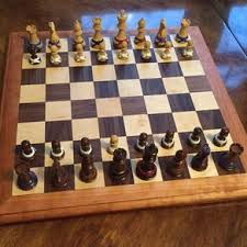 Homemade Wooden Board Games Custom Chess Boards Pieces and Sets Handmade Wooden 83