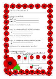 Sparklebox Height Chart Poppy Day English Esl Worksheets