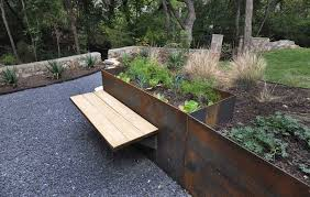 the materials which can be used for retaining walls range from wood to metal sheets and