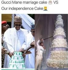 Gucci Manes Wedding Cake Vs Nigerian Independence Cake
