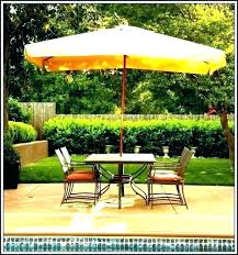 patio umbrella with led lights ft replacement solar costco