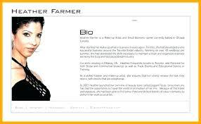 Personal Bio Template Sample Resume Real Estate Bio Examples From Simple Resume Bio