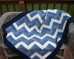 Blue and white quilt | Etsy & Blue and White Quilt Adamdwight.com