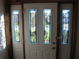 delightful glass panels for front doors trim sidelights sidelight replacing with wood
