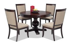 Pics of dining room furniture Sets Gatsby Round Piece Dining Set With Side Chairs Rotmans Dining Room Sets Bobscom
