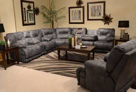 Living Room Sectionals On Furniture Comfortable Sectional With Recliner For Living Sofas On