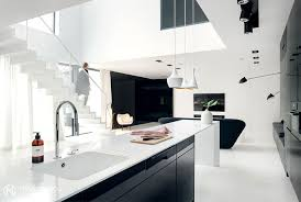 black n white furniture. The Place Is Sustained In Dynamic Combinations Between Black And White Furniture, Finishing, Details \u2013 That Although Designed With Close Attention N Furniture