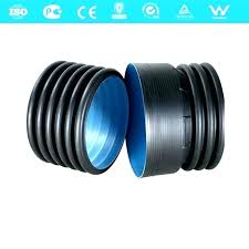 4 corrugated pipe charming drain double wall inch 3 home depot charmi