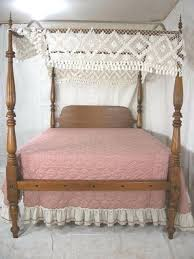 Rustic Canopy Bed Rustic Red Cedar Log Bed King Size Canopy Bed ...