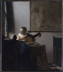 maria vermeer woman with a lute ca 1674 new york metropolitan museum copyright metropolitan museum new york this image is reproduced for the