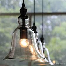 new antique vintage style glass shade ceiling light bell pendant light european retro chandelier glass pendant lamps glass pendant lights kitchen pendant