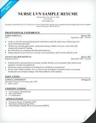 sample resume licensed practical nurse sample lpn resume lifespanlearn info