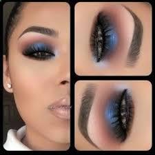 blue smoky eye blue smoky eye makeup goals