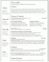 Medical Esthetician Resume Free Resume Templates