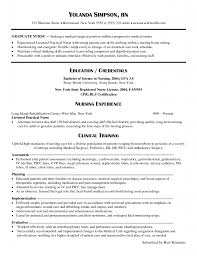 New Grad Nursing Resume Template Resume Cv Cover Letter