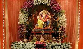 ganesh chaturthi decoration tips ideas ganpati decor theme pictures