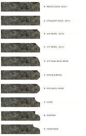 granite countertop edges how to cut granite edges granite counter edge design options granite countertop edges