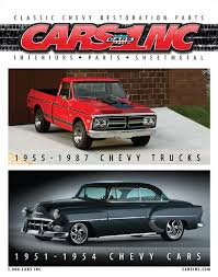 CARS Inc 1951-1954 Chevy Car and 1955-1987 Chevy Truck Catalog ...