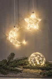 Christbaumschmuck Kristallfrost Beleuchteter Led Glasmond