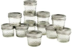 Ball Mason 4oz Quilted Jelly Jars with Lids and Bands, Set of 12 ... & Ball-Jar-Crystal-Jelly-Jars-4oz-12 Adamdwight.com