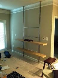 well known how to create a floor to ceiling tv entertainment center du09