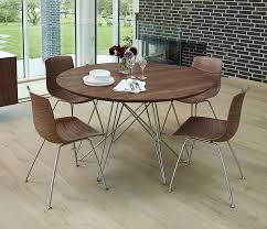 danish modern round table dining furniture wharfside pertaining to prepare 4