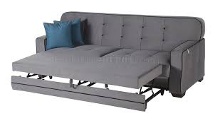 Grey Sofa Chair Koala Grey Sofa Bed In Fabric W Optioins