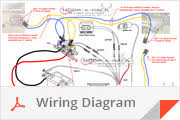 hook a lift product info see how easy it is to set up the wiring diagram we ve put together just for you we recommend installing 12vdc 50a quick connect wiring plugs using 6