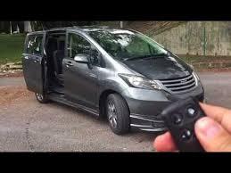 honda freed 2010 ivtec mini mpv 7 seater remote automatic sliding rear door malaysia