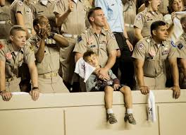 Texas A M Corps Of Cadets Offers Galore Help Marine Single Dad In Corps Of Cadets Texas A M