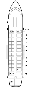 American Airlines Atr 42 Seating Map Aircraft Chart Atr 42
