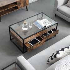 glass top coffee table coffee table
