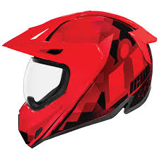 Icon Variant Size Chart Icon Variant Pro Ascension Red Dual Sport Helmet 0101 12439