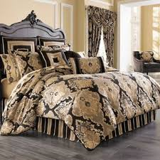 gold comforter sets king.  sets j queen new york bradshaw black king comforter set in to gold sets c