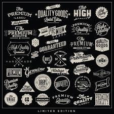 Vintage Logo Vector Free Vector Vintage Quality Badges From Www Shutterstock Com