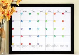 personalized dry erase calendar dry erase wall calendar organizer dry erase wall calendar