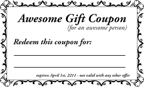 Make My Own Coupon Make My Own Coupons Printable Colesecolossus Personalized Coupons