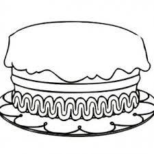 Small Picture Small Birthday Cake Coloring Page Image Inspiration of Cake and