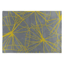 starfl large yellow and grey hand tufted wool rug 170 x 240cm now at habitat uk