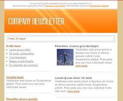 Newsletter Format Examples Sample Newsletter Format Ronni Kaptanband Co