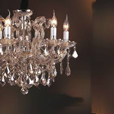 luxury crystal chandelier with 6 lights amber colored crystal chandelier ceiling lights of romance