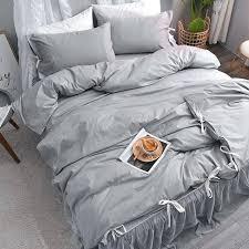 flowers queen bedding set comforter cover double bed linen ruffle white sheets queen bedding sets grey bedroom comforter navy king