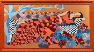 Original <b>Modern Fashion Glass</b> Paintings For Sale | Saatchi Art